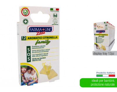 Patch FAMILY Anti-Zanzare Irge alla Citronella 12pz