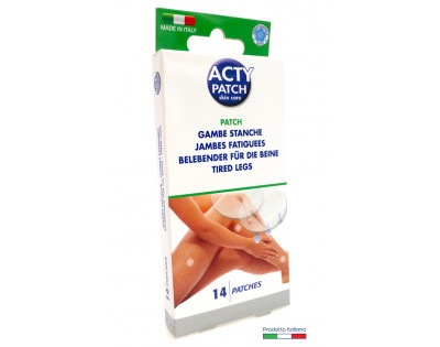 Acty patch gambe stanche 14 pz