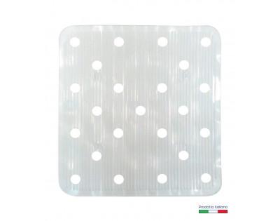 Tappeto lavello Irge bianco 31x33cm.