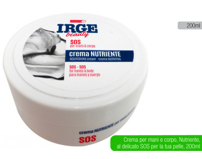 Crema Irge SOS nutriente 200ml