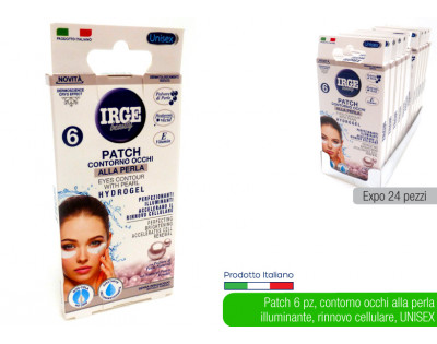 Irge Beauty  patch contorno occhi 6 pz
