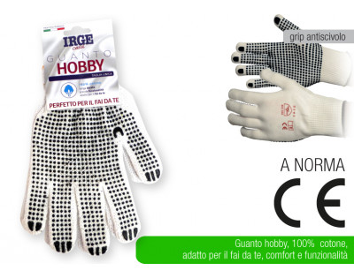 Guanto cotone hobby Irge