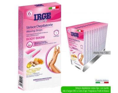Strisce depilatorie bikini Irge, 6 pz