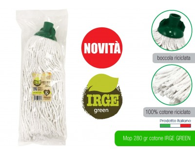 Mop cotone 280 gr. Irge Eco Green