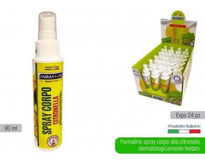 Spray Corpo Farmaline alla Citronella 90ml